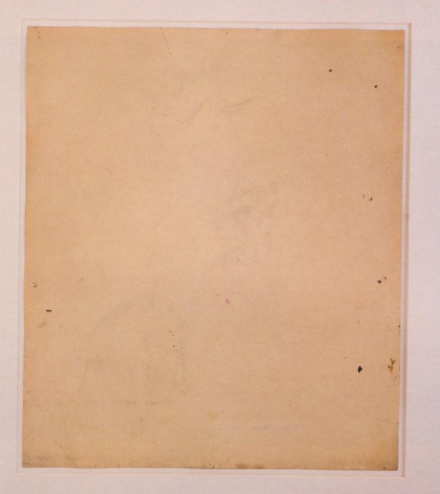רוברט ראושנברג, שנת 1953, ציור מחוק של דה קונינג