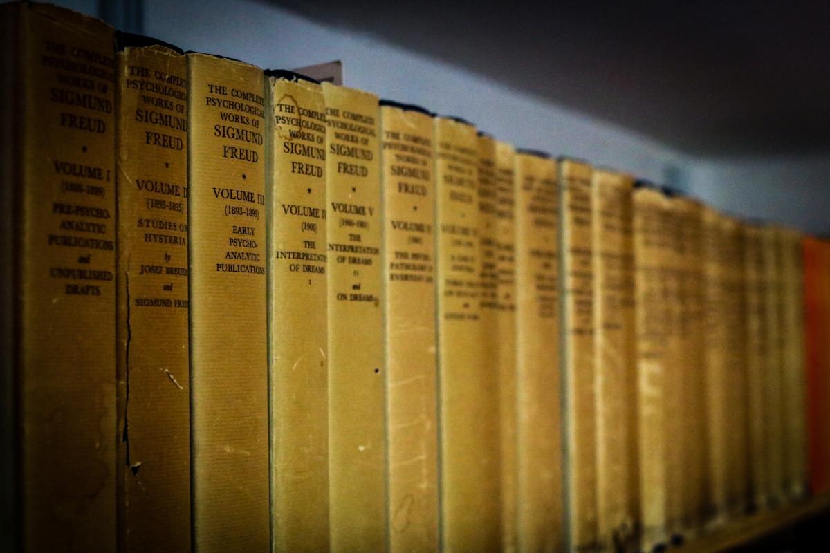 כתבי פרויד באנגלית