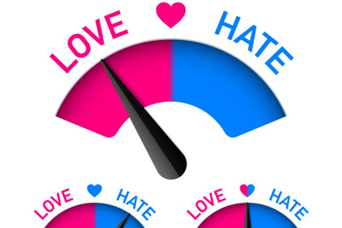 יחסי אהבה שינאה בקשר זוגי