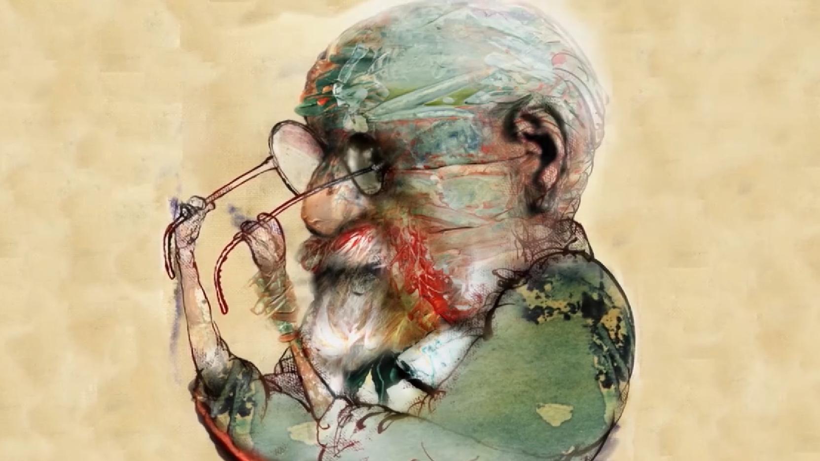 ציור: הורסיו קארדו. מתוך טריילר הסרט.
