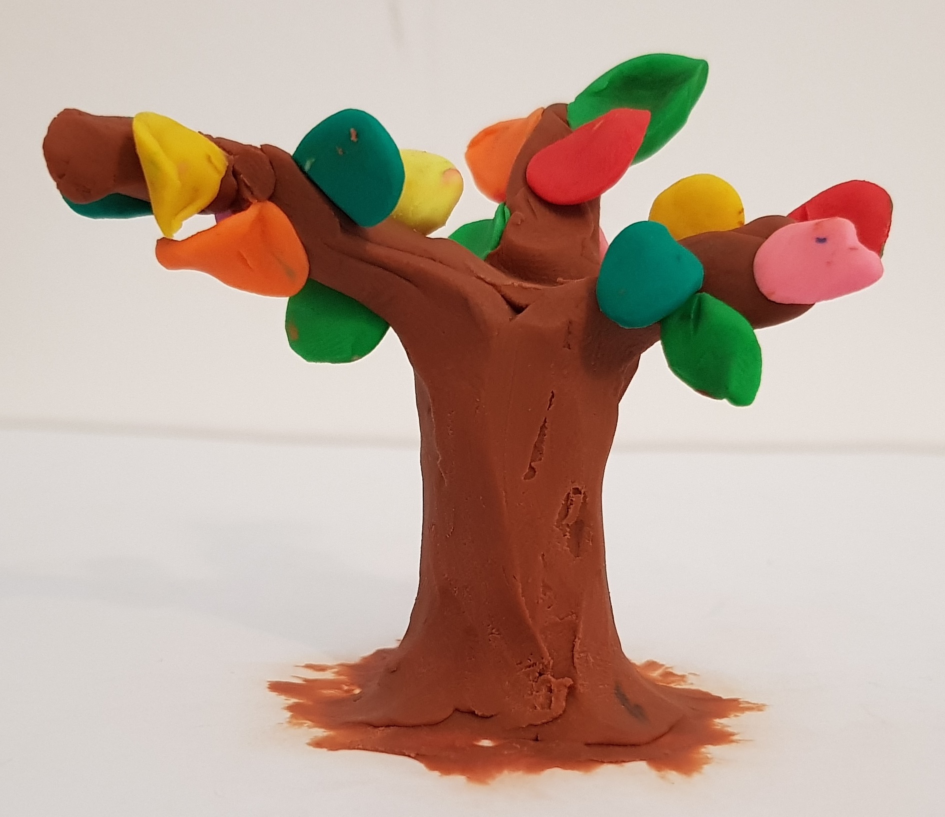 עץ מפלסטלינה