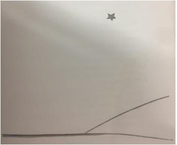 ציור של כוכב