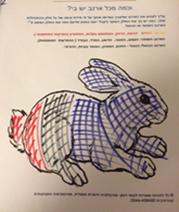 האם מציירת את הארנב של שרון עם התקדמות הטיפול