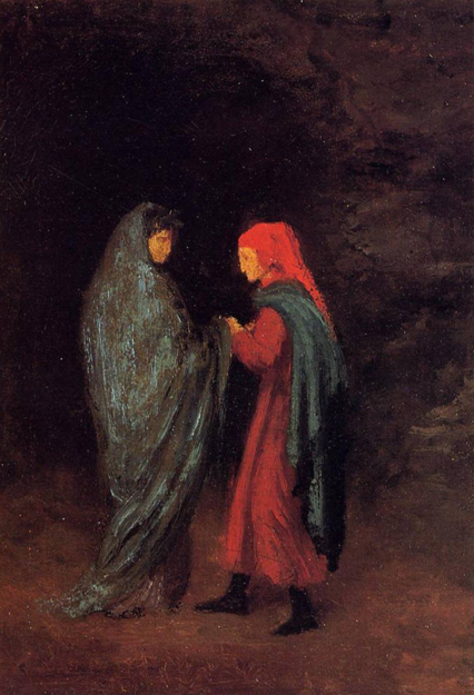Edgar Degas (1858), Dante and Virgil at the Entrance to Hell