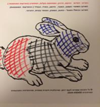 האם מציירת את הארנב של שרון בתחילת הטיפול
