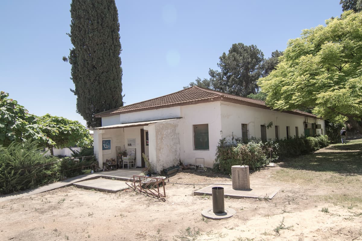 חדר האוכל הראשון בקיבוץ יד מרדכי, 2016