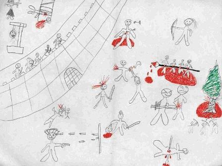 מיתוסים בפענוח ציורי ילדים 7