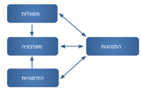 הגורמים המשפיעים על ההתנהגות ומושפעים ממנה: מסוגלות, הזדמנויות ומוטיבציה
