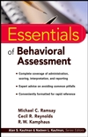 סדרת Essentials of במבצע סוף שנה - Behavioral Assessment